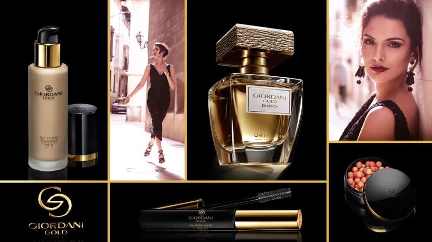 Descopera luxul cu noua gama Giordani Gold